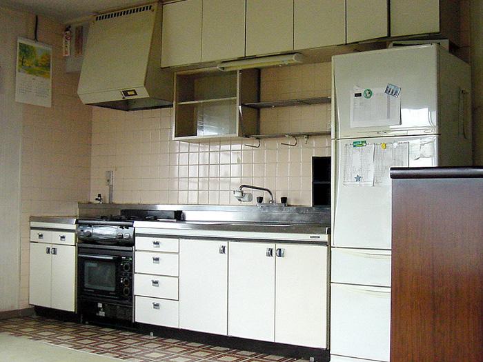 竹橋邸キッチン